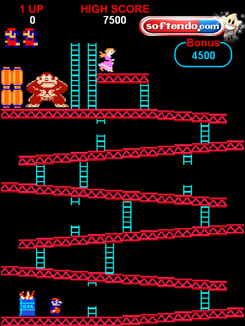 Donkey Kong Online