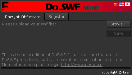 DoSWF Mini (Flash SWF Encryptor)