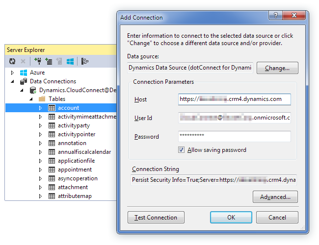 dotConnect for Dynamics CRM