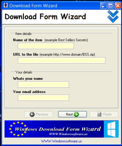 Download Form Wizard
