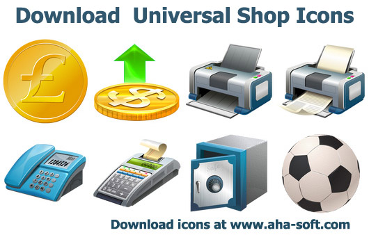 Download Universal Shop Icons