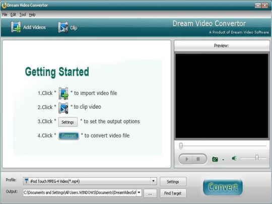 Dream AMR to MP3 Converter
