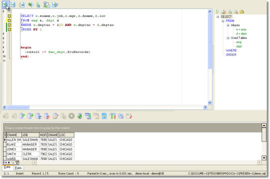 DreamCoder for Oracle DBA