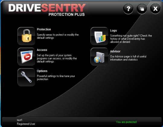 DriveSentry Desktop