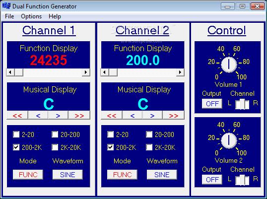 Dual Function Generator