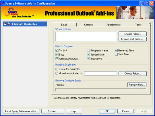 Duplicate Eliminator Bundle for Microsoft Outlook (32-bit)