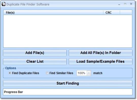 Duplicate File Finder Software