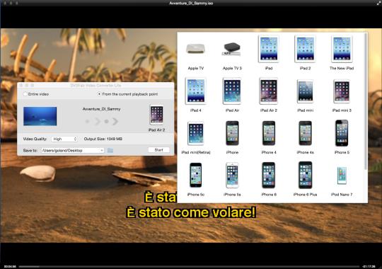 DVDFab Mac Video Converter Lite