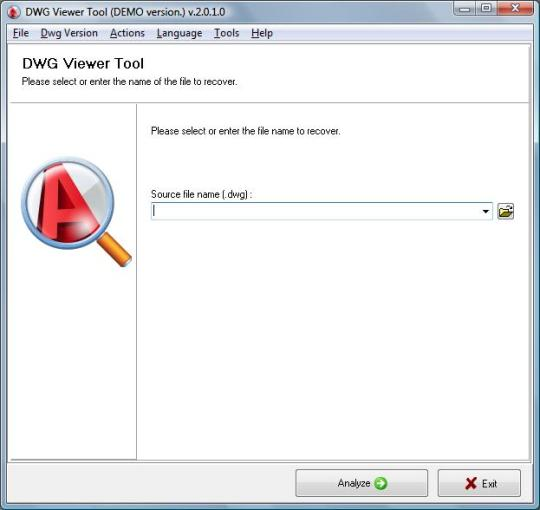 DWG Viewer Tool