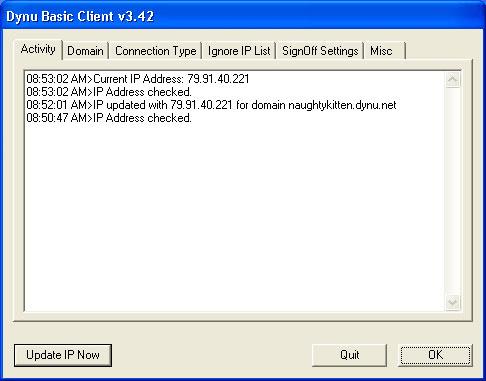 Miễn phí tải về Dynu Basic Dynamic DNS Client Cho Windows