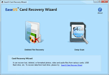 EaseUS Card Recovery Wizard