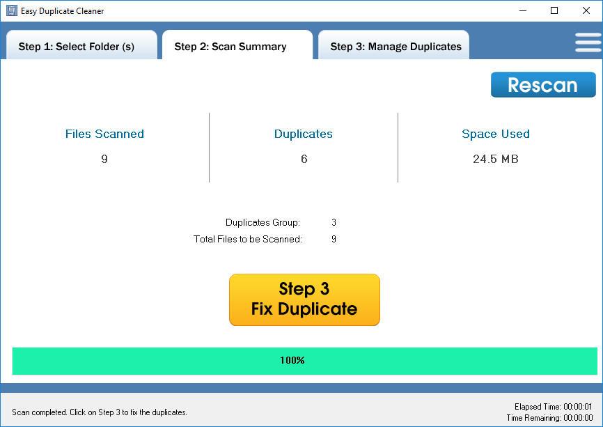 Easy Duplicate Cleaner