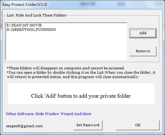 Easy Protect Folder