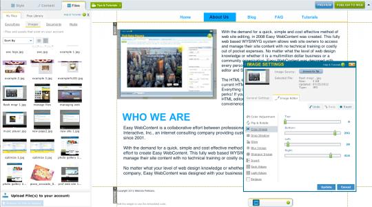 Easy WebContent Website Builder