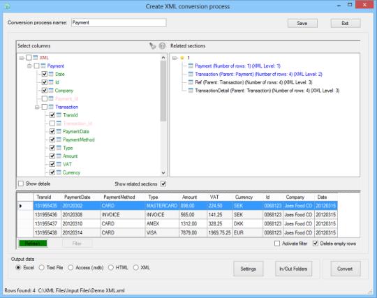 Easy XML Converter