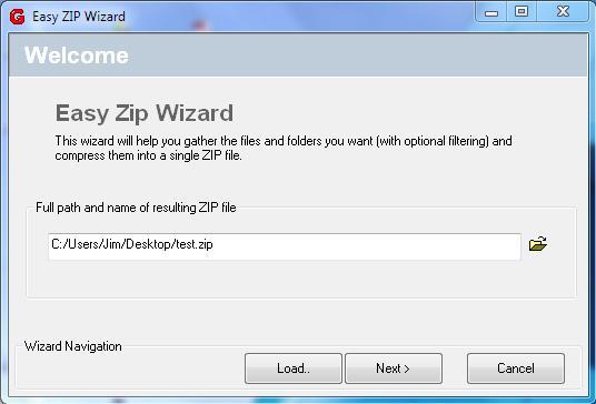 Easy Zip Wizard