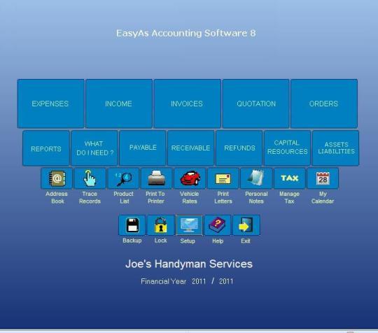 EasyAs Accounting Software