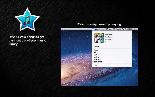 EasyRaterLite for iTunes