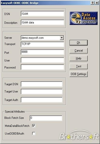 Easysoft ODBC-ODBC Bridge (Client)