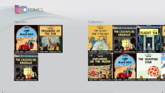 Echo Comics for Windows 8