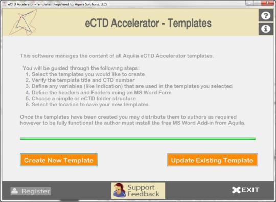 eCTD Accelerator - Templates