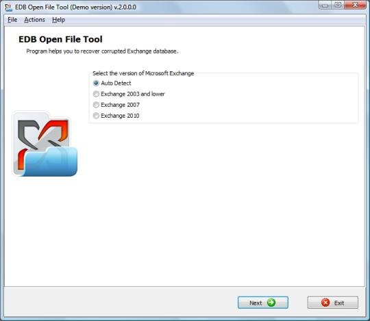 EDB Open File Tool