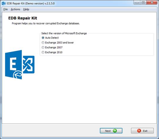 EDB Repair Kit