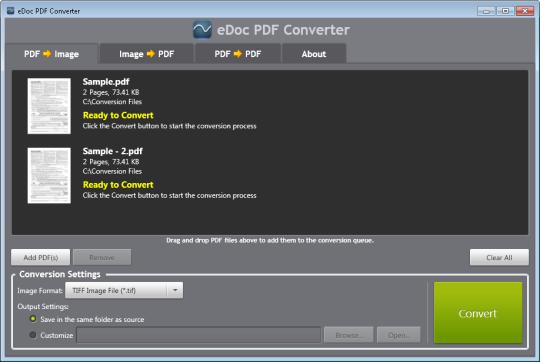eDoc PDF Converter