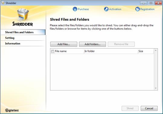 EgisTec Shredder