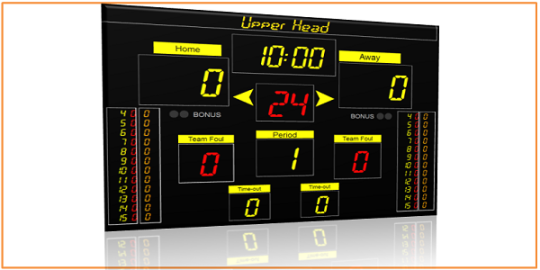 Eguasoft Basketball Scoreboard