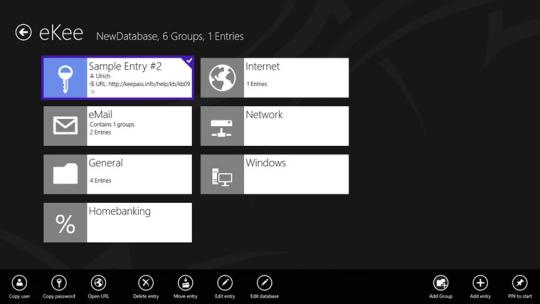 eKee for Windows 8