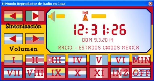 El Mundo Reproductor de Radio en Casa