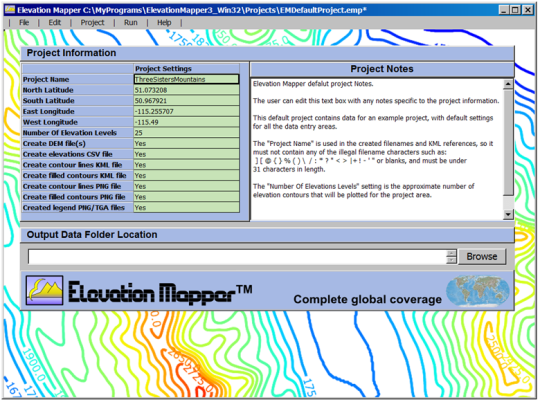 Elevation Mapper
