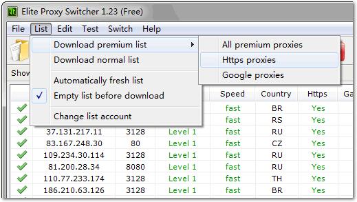 Elite Proxy Switcher