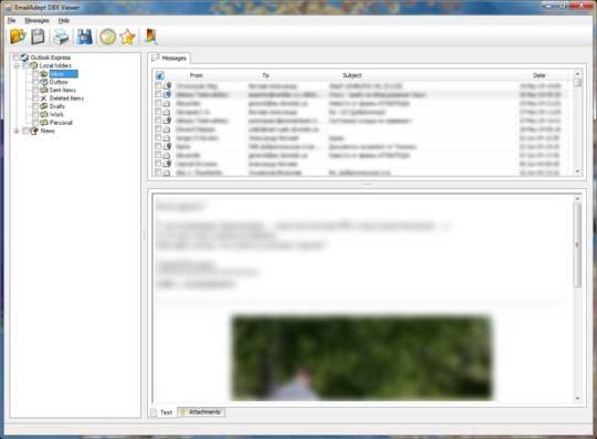 EmailAdept DBX Viewer