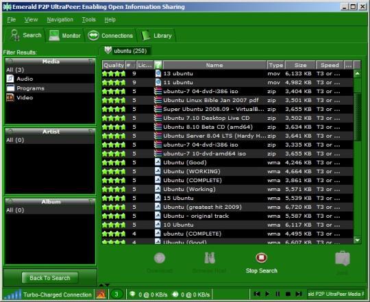 Emerald P2P UltraPeer