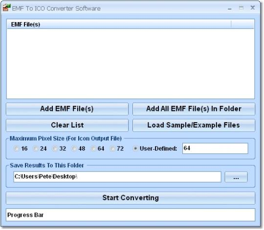 EMF To ICO Converter Software
