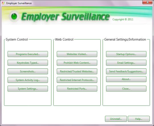 Employer Surveillance