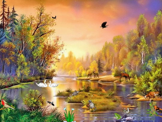 Enchanting Forest Screensaver