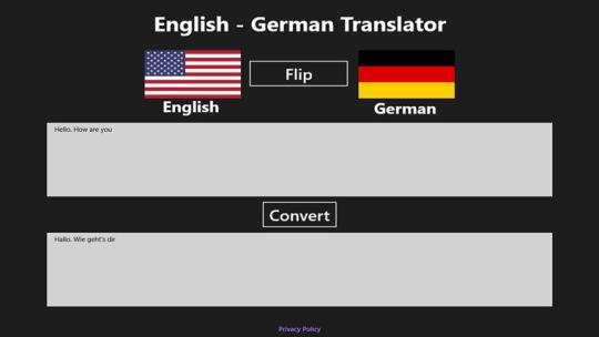 English German Translator