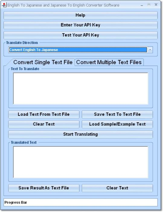 English To Japanese and Japanese To English Converter Software