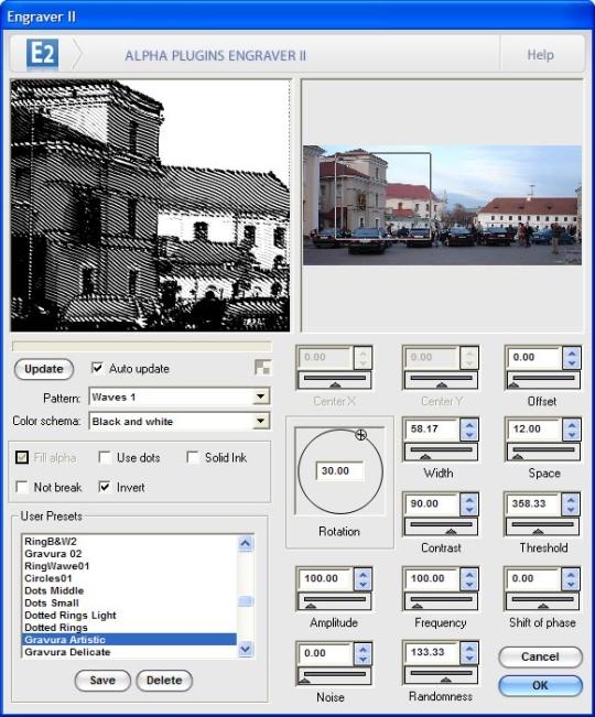 Engraver II for Photoshop (64Bit)
