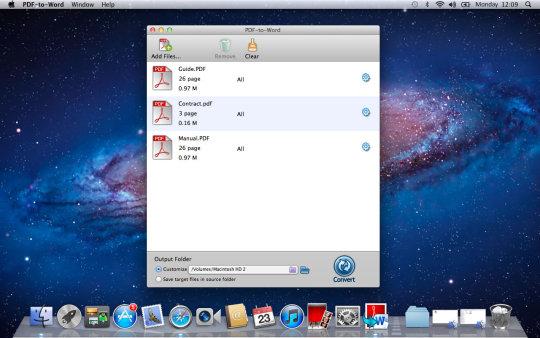 Enolsoft PDF to Word for Mac