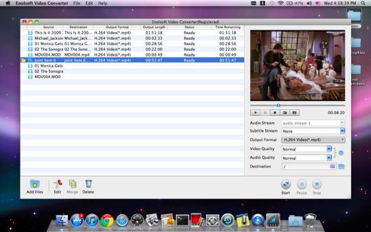 Enolsoft Video Converter for Mac