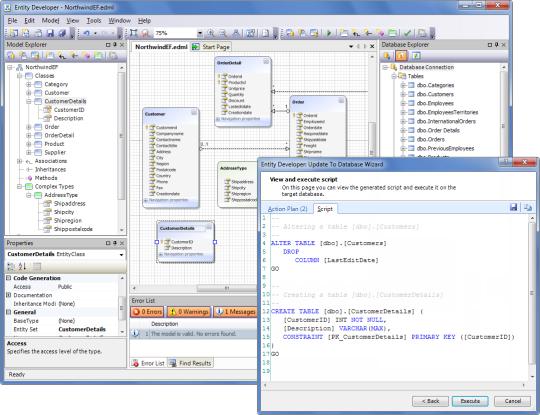 Entity Developer Express