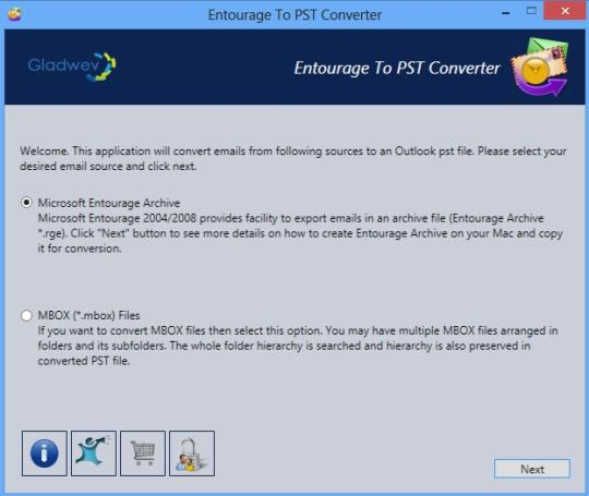 Entourage to PST Converter