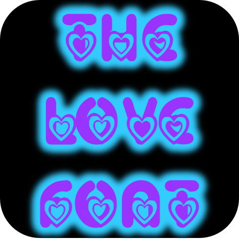 ePendo-Love Outline Font