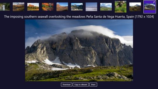 Epic Earth Pics Daily for Windows 8