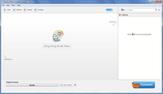 Epubor ePUB to Kindle Converter