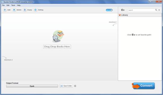Epubor Kindle to ePUB Converter